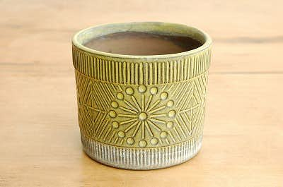 Upsala Ekeby/ウプサラエクビイ/Mari Simmulson/陶器の植木鉢(小)の商品写真