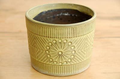 Upsala Ekeby/ウプサラエクビイ/Mari Simmulson/陶器の植木鉢(大)の商品写真