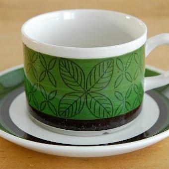 GEFLE(Upsala Ekeby)/ゲフル(ウプサラエクビイ)/EVA/コーヒーカップ&ソーサーの商品写真