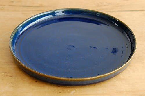 デンマーク/SOHOLM/スーホルム/陶器のプレート(ブルー)の商品写真