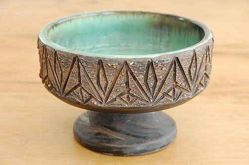 これはレア!!/Tilgmans/ティルグマン/陶器のフルーツ皿(コンポート)の商品写真