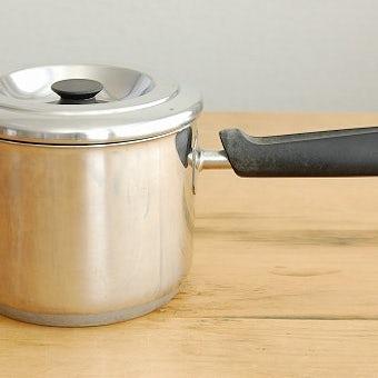 スウェーデンで見つけたステンレス製の片手鍋の商品写真