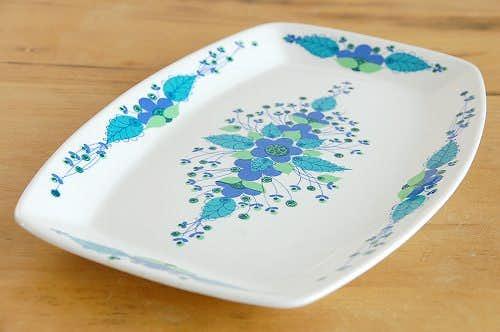 ノルウェー/STAVANGERFLINT/陶器のロングプレートの商品写真