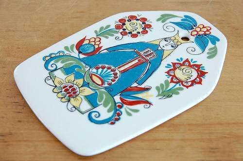 FIGGJO/フィッギオ/SAGAシリーズ/陶器のチーズボード(女性)の商品写真