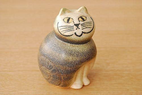 GUSTAVSBERG/グスタフスベリ/リサ・ラーソン/陶器のオブジェ(猫)の商品写真