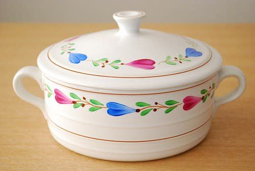 GUSTAVSBERG/グスタフスベリ/RANKA/陶器のシチューポット(キャニスター)の商品写真
