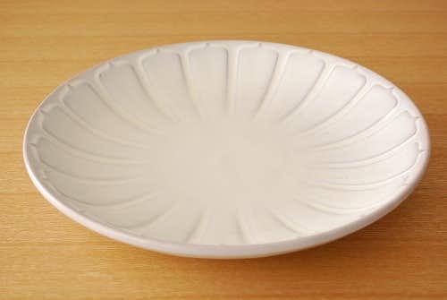 Upsala Ekeby/ウプサラエクビイ/Anna-Lisa Thomson/陶器の大皿(ホワイト)の商品写真