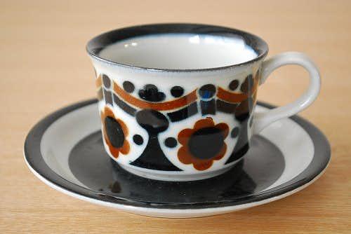ARABIA/アラビア/rikka/コーヒーカップ&ソーサーの商品写真