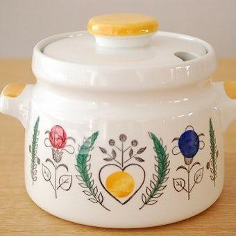 RORSTRAND/ロールストランド/Blomster/陶器のソースポット(キャニスター)の商品写真