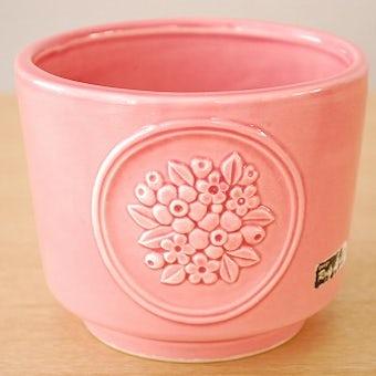 Rosa Ljungデザイン/陶器の植木鉢カバー(ピンク)の商品写真