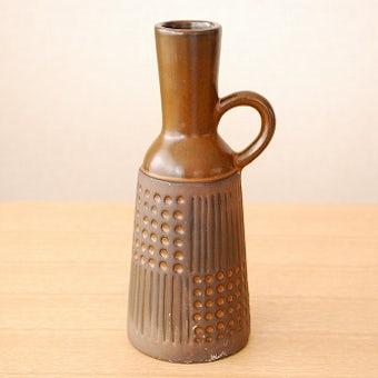 Upsala Ekeby/ウプサラエクビイ/Mari Simmulsonデザイン/陶器の一輪挿し(花瓶)の商品写真