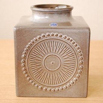 Upsala Ekeby/ウプサラエクビイ/キューブ型の花瓶(大)の商品写真