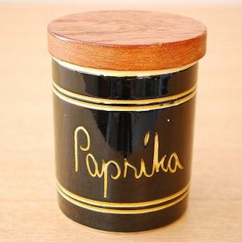 スウェーデンで見つけた木蓋付きスパイスポット/paprika(パプリカ)の商品写真