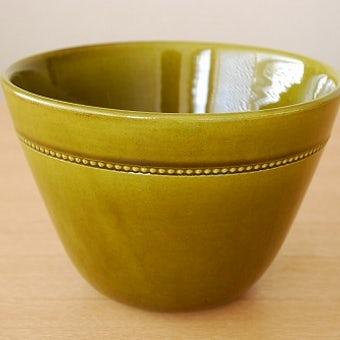 HOGANAS/ホガナス/陶器の植木鉢カバー(モスグリーン)の商品写真