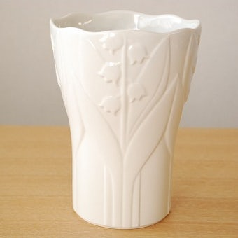 GUSTAVSBERG/グスタフスベリ/陶器の花瓶(ホワイト)の商品写真