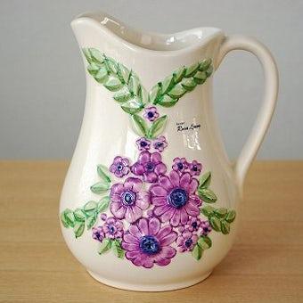 Rosa Ljungデザイン/陶器のピッチャーの商品写真