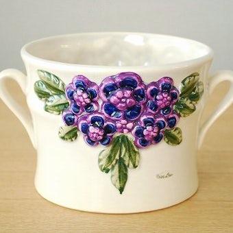 Rosa Ljungデザイン/陶器の植木鉢カバー(1)の商品写真