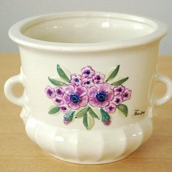 Rosa Ljungデザイン/陶器の植木鉢カバー(2)の商品写真