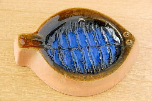 スウェーデン/JIE釜/お魚モチーフのアッシュトレイの商品写真