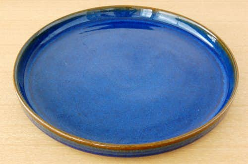 デンマーク/SOHOLM/陶器の大皿(ブルー)の商品写真