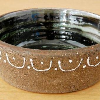 スウェーデン/Nittsjo釜/陶器のボウルの商品写真