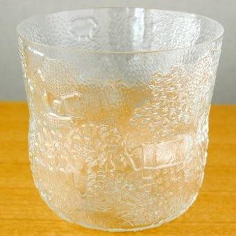 Nuutajarvi/FAUNAシリーズ/Oiva Toikka/オイバ・トイッカ/ガラスの花瓶の商品写真