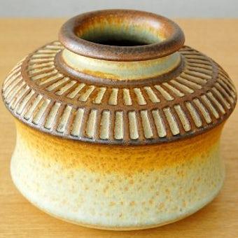 デンマーク/SOHOLM/陶器の花瓶の商品写真