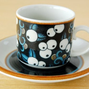 ARABIA/アラビア/Taika/タイカ/コーヒーカップ&ソーサーの商品写真
