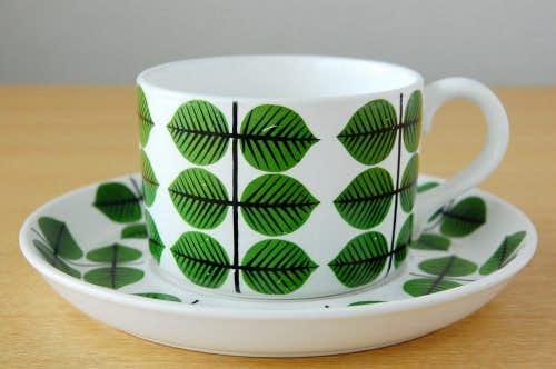 GUSTAVSBERG/グスタフスベリ/BERSA/ベルサ/ティーカップ&ソーサーの商品写真