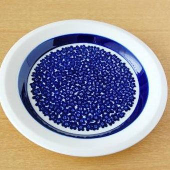 ARABIA/アラビア/Faenza/ブルー/デザートプレート(17cm)の商品写真