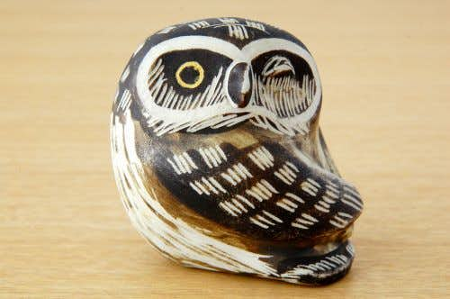 GUSTAVSBERG/グスタフスベリ/Edvard Lindahl/エドバルド・リンダル/陶器のフクロウのオブジェの商品写真