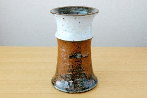 Rorstrand/ロールストランド/DrejarGruppenデザイン/どっしりとした陶器の花瓶の商品写真