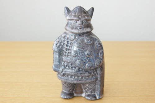 Upsala Ekeby/ウプサラエクビイ/陶器のバイキングのオブジェの商品写真