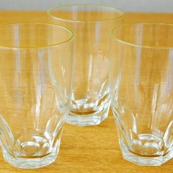 スウェーデンで見つけたミニグラス3個セットの商品写真
