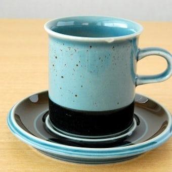 ARABIA/アラビア/MERI/コーヒーカップ&ソーサー(少々難あり)の商品写真