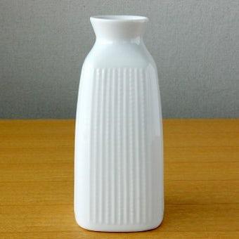 RORSTRAND/ロールストランド/陶器の花瓶(ホワイト)の商品写真
