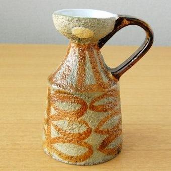 Upsala Ekeby/ウプサラエクビイ/Mari Simmulsonデザイン/.陶器の一輪挿し(花瓶)の商品写真