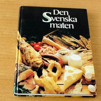 スウェーデンで見つけた古い料理本(3)の商品写真