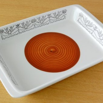 GEFLE(Upsala Ekeby)/ゲフル/PERGOLA/スクエアプレート(深皿)の商品写真