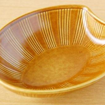 GUSTAVSBERG/グスタフスベリ/Wilhelm Kage/陶器のボウル(ブラウン)の商品写真