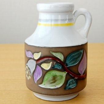 Upsala Ekeby/ウプサラエクビイ/Mari Simmulson/もち手付きの陶器の花瓶の商品写真