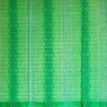 スウェーデンで見つけたヴィンテージカーテン2枚セット(グリーン)の商品写真