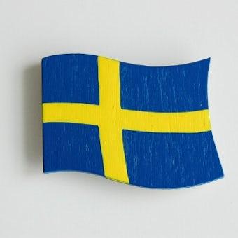 【取扱い終了】Larssons Tra/ラッセントレー/マグネット/スウェーデンフラッグの商品写真