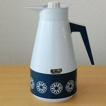 スウェーデンで見つけたプラスティック魔法瓶(グレー)の商品写真