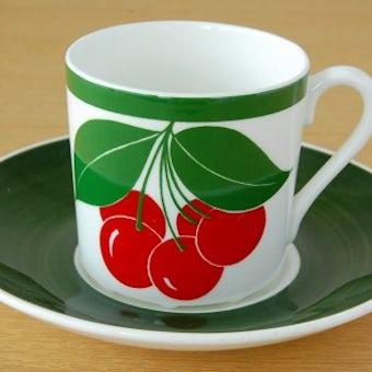 GUSTAVSBERG/グスタフスベリ/KORSBAR/スティグ・リンドベリデザイン/コーヒーカップ&ソーサーの商品写真