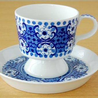 ARABIA /アラビア/Ali/コーヒーカップ&ソーサー(ブルー)の商品写真