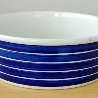 GUSTAVSBERG/グスタフスベリ/ボーダー模様の陶器のボウルの商品写真