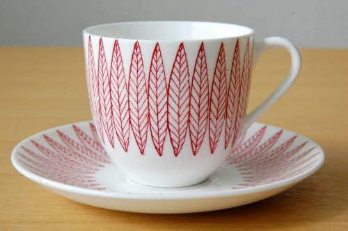 GUSTAVSBERG/グスタフスベリ/SALIX/コーヒカップ&ソーサー(僅かに難あり)の商品写真