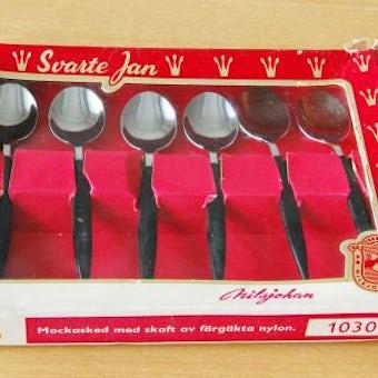NILS JOHAN/ニルスヨハン/コーヒースプーン6本セット(箱入り)の商品写真