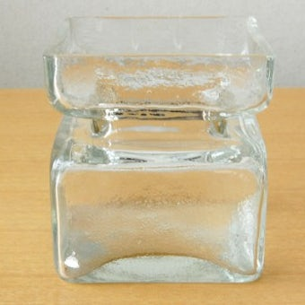 フィンランド/Riihimaen Lasi社/ガラスの花瓶の商品写真